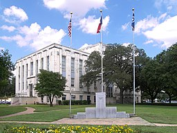 Falls County Courthouse i Marlin.