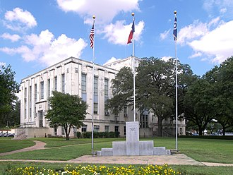 Falls County, Texas - Image: Falls county courthouse