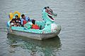 Family on Pedalo - Sukhna Lake - Chandigarh 2016-08-07 8935.JPG