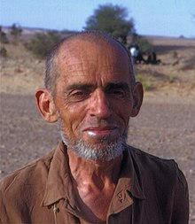 Famous French scientist, Théodore Monod, in the Sahara Desert, 1967.jpg