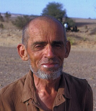 Théodore Monod - Image: Famous French scientist, Théodore Monod, in the Sahara Desert, 1967