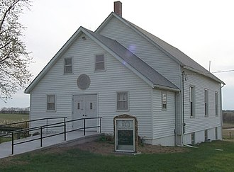 Far West, Missouri - Community of Christ chapel in Far West