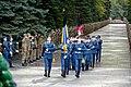 Farewell ceremony for cadet Vitalii Vilkhovyi 03.jpg