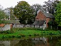 Farm buildings and church tower, Colwich, Staffordshire - geograph.org.uk - 1557147.jpg