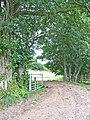 Farm road at Esplandhill, Brampton - geograph.org.uk - 220302.jpg