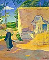 Farmhouse at Le Pouldu 1890 Paul Serusier.jpg