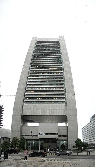 Federal Reserve Bank Building (Boston) - Image: Fedreservbankbuildli ng