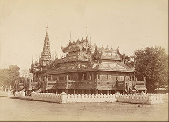 Kyaung - A traditional wooden monastery.