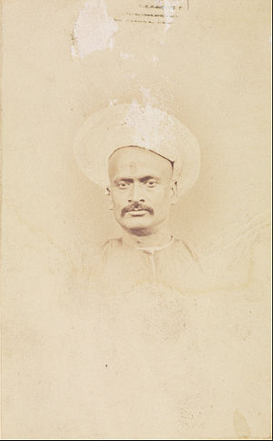 Dinkar Rao - Photograph by Felice Beato, circa 1857