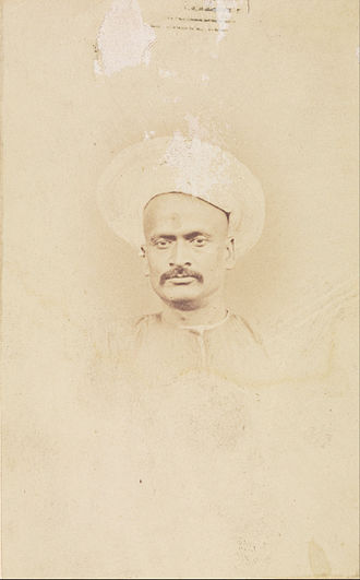 Dinkar Rao - Photograph by Felice Beato, circa 1857