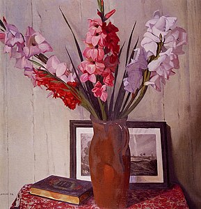 Felix Vallotton - Still Life with Gladioli (13910370102).jpg