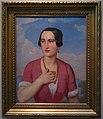 Female portrait. Italian woman by A.Tyranov (1840s, GTG) FRAME.jpg