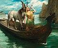 Ferdinand Leeke - Richard Wagner, Götterdämmerung, Act I, Siegfried's Rhine Journey.jpg