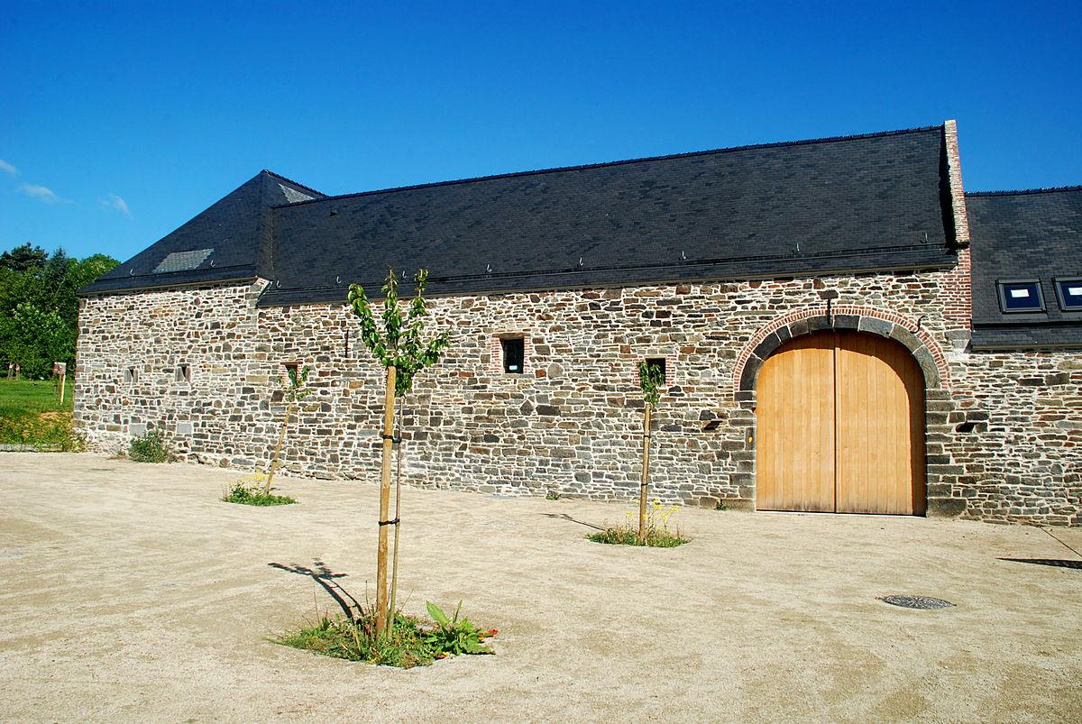 Ferme de l 39 abbaye de villers la ville wikip dia for Jardin 19eme siecle