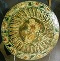 Ferrara, piatto con angelo, 1480-1500 ca.JPG