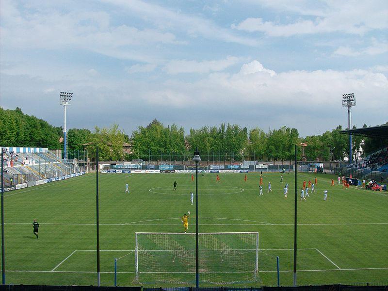 Ferrara -Stadio Paolo Mazza - Campo.JPG