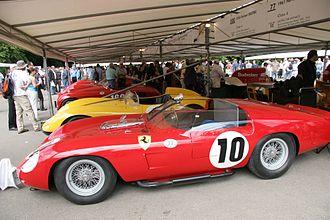 1961 World Sportscar Championship - Ferrari won the 1961 World Sports Car Championship with their 250 TR61 (pictured) and Dino 246S models