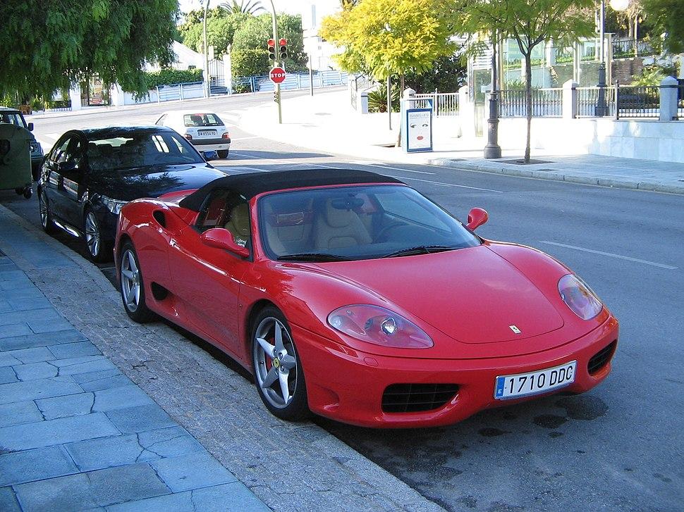 Ferrari in Marbella 2004