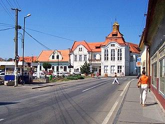 Fiľakovo - Fiľakovo town square