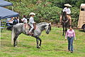Fiestas Patrias Parade, South Park, Seattle, 2015 - preparing the horses 17 (21365245888).jpg