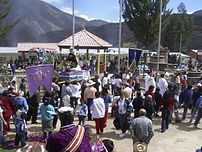 Fiestas patronales en Magdalena, Chachapoyas, ...