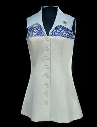 Billie Jean King - A dress worn by King in 1973