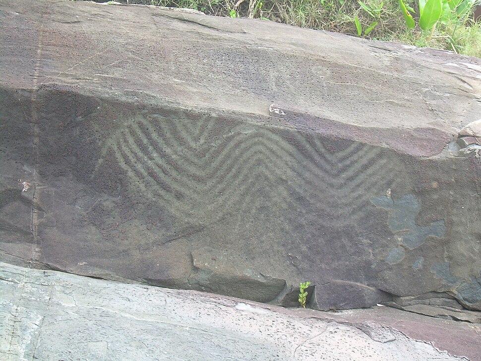 Figuras rupestres, Costão do Santinho, Florianópolis 2