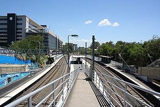 Auchenflower, Queensland - Auchenflower railway station