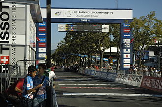 2013 UCI Road World Championships - The finish of all events