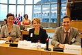 Finske medlemmer av Nordisk rads Presidium i Europaparlamentet i Brussel, juni 2011.jpg