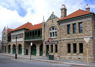 Department of Fire and Emergency Services - Old Perth Fire Station, the first in WA; now a museum