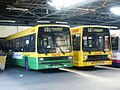 First Eastern National buses 1401 (E401 HWC) & 1402 (F402 LTW), 30 March 2003.jpg