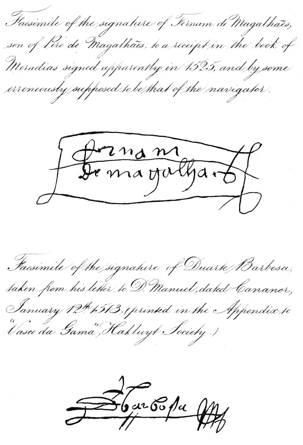 First Voyage Round The World Signatures 1