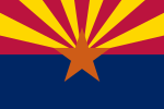 Flag of Arizona(January 25, 1917)
