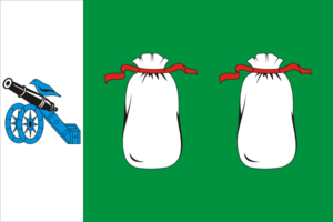 Belsky District, Tver Oblast - Image: Flag of Belsky rayon (Tver oblast)
