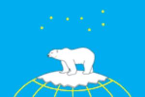 Dikson (urban-type settlement) - Image: Flag of Dikson (Krasnoyarsk krai)