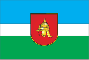 Olevsk Raion - Image: Flag of Olevsky raion in Zhytomyr oblast