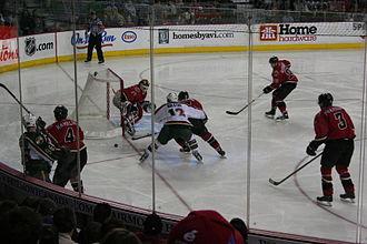 Sports in Minnesota - Minnesota Wild at Calgary Flames