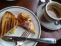 Flickr - cyclonebill - Croque monsieur og cortado.jpg
