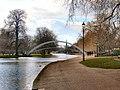 Flickr - ronsaunders47 - Suspension bridge on the River Ouse in Bedford. UK..jpg