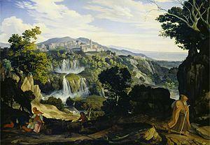 Karl Philipp Fohr - Image: Fohr Cascatelle di Tivoli