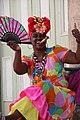 Folklore Lady in Havanna, Cuba.jpg
