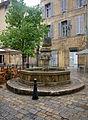 Fontaine - Place des Trois Ormeaux - Aix en Provence - 02.jpg