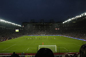 Football at the 2012 Summer Olympics – Men's tournament - The match of Great Britain against Senegal in Old Trafford, Manchester