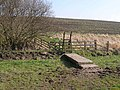 Footbridge and stile on the Hadrian's Wall National Trail - geograph.org.uk - 1210913.jpg