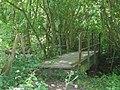 Footbridge near Mill Bank Wood - geograph.org.uk - 1450495.jpg