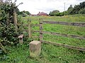 Footpath and Stile at Huntington, Cheshire.jpg