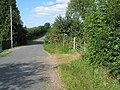 Footpath and stile off Bulley Lane, Birdwood - geograph.org.uk - 536683.jpg