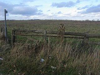 Berryfields Major development area to the north-west of Aylesbury, Buckinghamshire, England