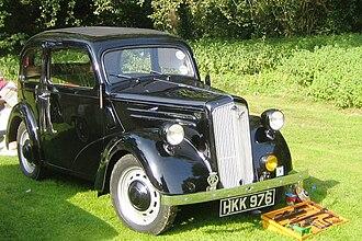 Ford Anglia - 1946 Ford Anglia E04A 2-door saloon